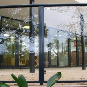 Affordable Framed Glass Fencing