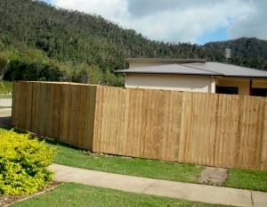 Treated Pine: Lapped Paling