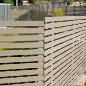 Slat Privacy Metal Fencing