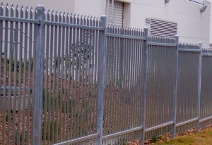 Metal Security Fencing