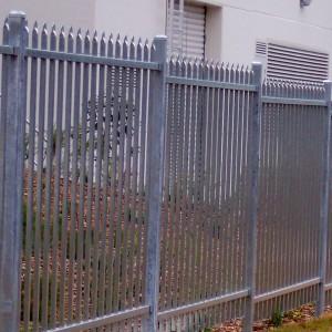 Metal Security Fencing