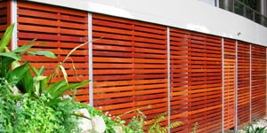 Residentail Slat Privaccy Fencing