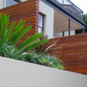 Slat Privacy Timber Fencing