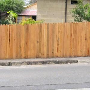 Residential Hardwood Fencing
