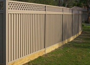 Colorbond: Timber Sleepers
