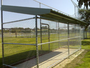 Sports Field Cage