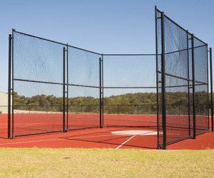 Rail Base Ball Net
