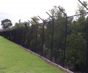 Chainwire Barb Fence
