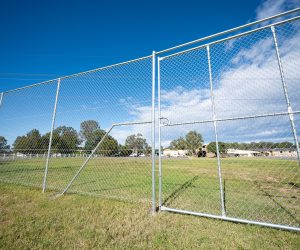 Industrial Chainwire Fencing