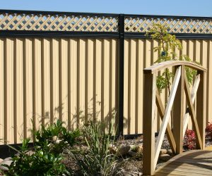 Colorbond Fencing Lattice