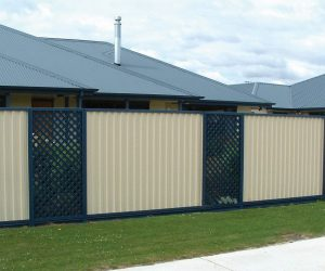 Colorbond Fencing Lattice Panels