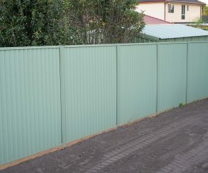 Colorbond Fencing Sleeper