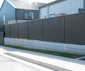Colorbond Fencing Concrete Wall