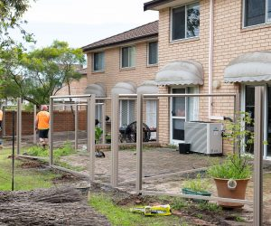 Colourbond Fence Construction