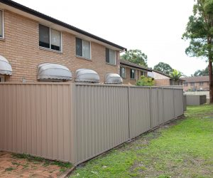 Colorbond Fencing Town House