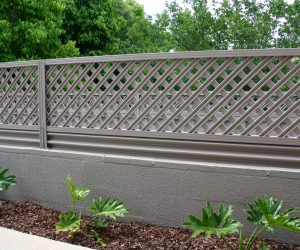 Lattice Colorbond Fence Extensions