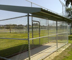Sports Field Cage Chainwire Fencing