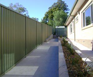 Colourbonf Fence