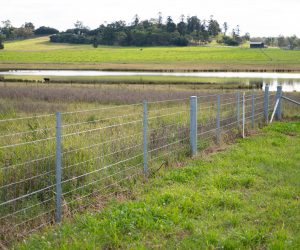 Rural Fence Hinge Joint